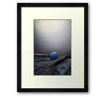 born of dusty twilight fire... Framed Print