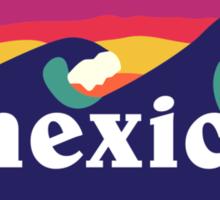 Mexico surfing waves Sticker