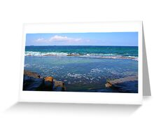 Bogey Hole View Greeting Card