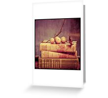 Light Reading Greeting Card