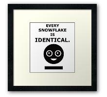 Every Snowflake - MCR Framed Print