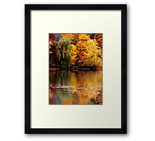 Above and Below. Framed Print