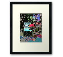 Home is where You hang your Hat Framed Print