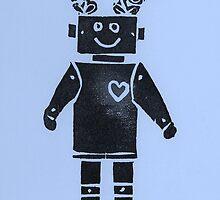 Heart Robot - Periwinkle by KeLu