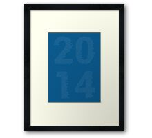 2014 - The Headlines Framed Print