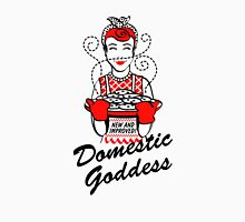 DOMESTIC GODDESS Womens Fitted T-Shirt