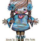 Love is a Big Hug  by © Karin (Cassidy) Taylor