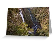 Ellenborough Falls Greeting Card