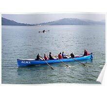 Alma Gig At Lyme Regis Poster