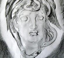 Medusa   from Simeon Solomon by pucci ferraris