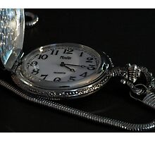 Time is on my side Photographic Print
