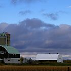 A Farm in Fall.... by Larry Llewellyn