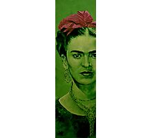 Frida Kahlo - red bow Photographic Print