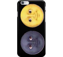 Sun & Moon Emoji iPhone Case/Skin