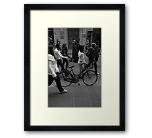 Invisible Bicycles Framed Print