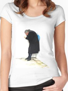 Old Lady Women's Fitted Scoop T-Shirt
