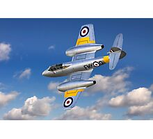 Gloster Meteor Jet Trainer Photographic Print