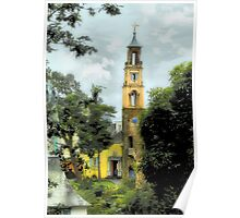 Bell Tower - Portmeirion Village Poster