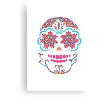 Colourful Skull Canvas Print