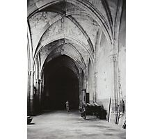 Inside the Cathedral of Toledo Photographic Print