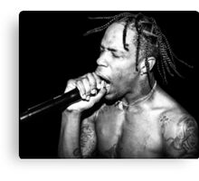 Travi$ Scott Dope Concert Pic Canvas Print