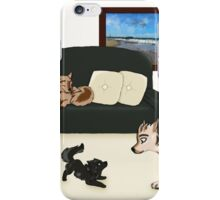 Wolf Pups iPhone Case/Skin