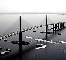Sunshine Skyway Bridge by FLY911