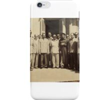 Che Guevara visiting Gaza Strip during 1959 iPhone Case/Skin