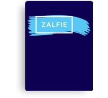 ZALFIE - white Canvas Print