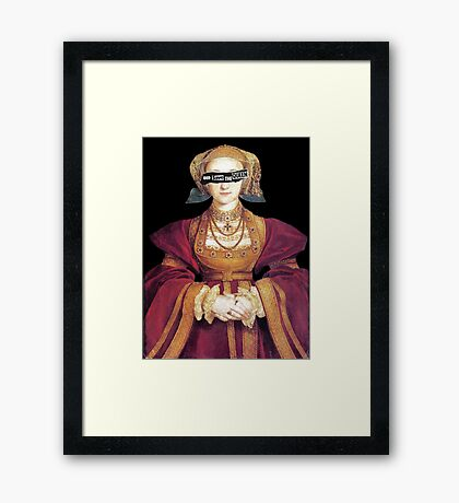 The Flanders Mare Framed Print
