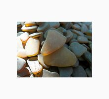 Sunlit Brown and Honey Amber Sea Glass Pieces Unisex T-Shirt
