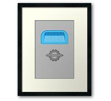 #SAVEPUSH - Push The Talking Trashcan Framed Print