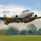 Meteor T.7 debut take-off by Colin Smedley