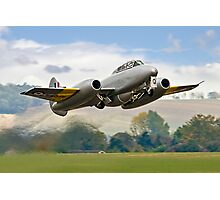 Meteor T.7 debut take-off Photographic Print