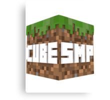 The Cube SMP Canvas Print