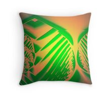 Full Green Throw Pillow