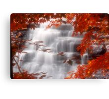 Autumn Waterfall I Canvas Print