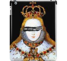 Good Queen Bess iPad Case/Skin