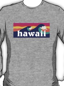 Hawaiian waves T-Shirt