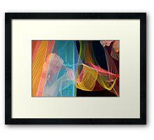 Multicolored background Framed Print