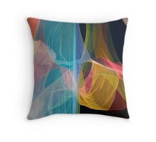 Multicolored background Throw Pillow