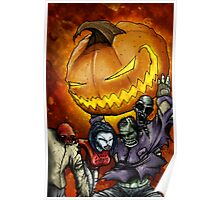 We All Scream For Halloween Poster