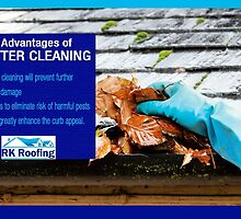 3 Advantages of Gutter Cleaning by RKRoofing