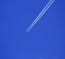 Vapour Trails by HALIFAXPHOTO