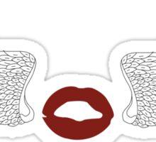 zayn malik tattoo Sticker