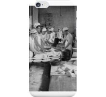 CLASS FOR BAKERS, COMMISSARY SCHOOL, NAVAL TRAINING STATION Newport, Rhode Island 1916 iPhone Case/Skin
