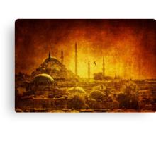 Prophetic Past Canvas Print
