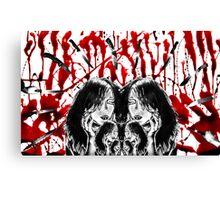 Knives Canvas Print