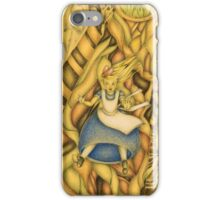 Alice down the rabbit-hole iPhone Case/Skin