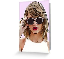 Taylor Swift 1989 Greeting Card